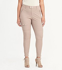 Lauren Ralph Lauren® Plus Size Stretch Cotton Cargo Pants