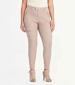 Lauren Ralph Lauren® Plus Size Stretch Cotton Cargo Pant