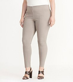 Lauren Ralph Lauren® Plus Size Stretch-Denim Skinny Pants