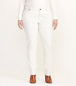 Lauren Ralph Lauren® Plus Size Premier Straight Corduroy Pant