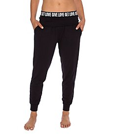 Betsey Johnson® Give Love Elastic Pants