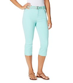 Bandolino® Mandie Twill Capri With Piping