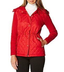 Rafaella® Solid Snap Front Jacket