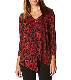 Rafaella® Printed Knit Top