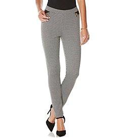 Rafaella® Houndstooth Jacquard Pants