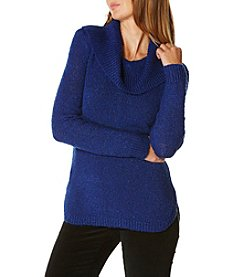 Rafaella® Cowl Neck Boucle Sweater