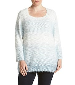 Alfred Dunner® Plus Size Northern Lights Ombre Textured Sweater