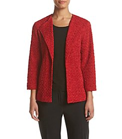 Alfred Dunner® Petites' Wrap It Up Boucle Jacket