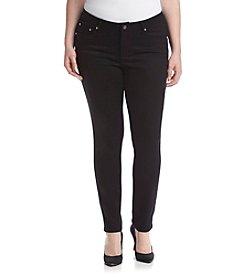 Earl Jean® Plus Size Swirl Pocket Skinny Jeans