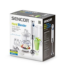 Sencor® SHB4360 Hand Blender with Accessories