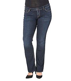 Silver Jeans Co. Plus Size Suki Slim Bootcut Jeans