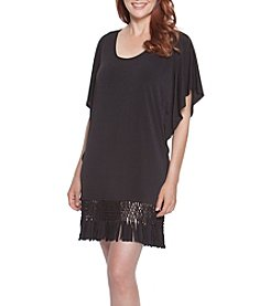 Dotti Summer Sunset Fringe Tunic