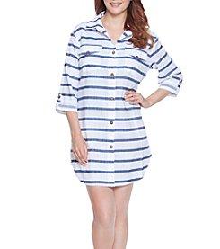 Dotti Tulum Stripe Shirt Dress