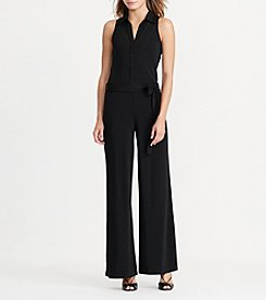Lauren Ralph Lauren® Wide-Leg Jersey Jumpsuit