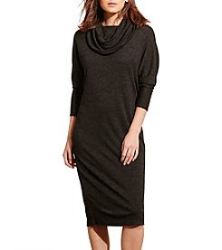 Lauren Ralph Lauren® Cowlneck Jersey Dress