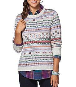 Chaps® Fair Isle Sweater