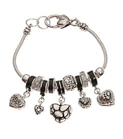 L&J Accessories Bali Heart Bracelet
