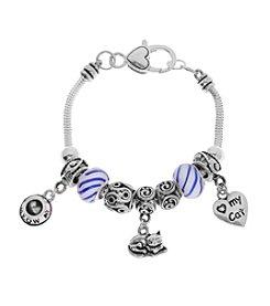 L&J Accessories Cat Charm Bracelet