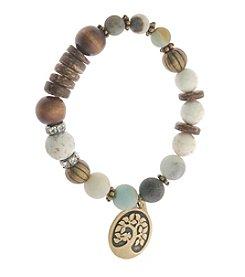 L&J Accessories Tree Charm Bracelet