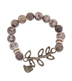 L&J Accessories Dove and Vine Bracelet