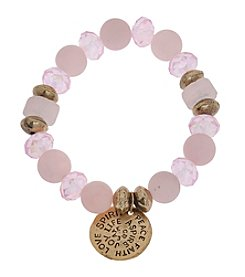 L&J Accessories Coin Charm Bracelet
