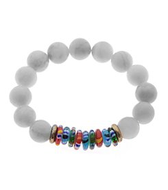 L&J Accessories Multicolor Bead Bracelet