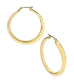 Robert Lee Morris Soho™ Goldtone Hoop Earrings
