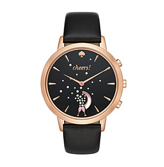 kate spade new york® Leather Strap Cheers Metro Grand Hy