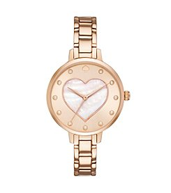 kate spade new york® Heart Dial Gramercy Watch