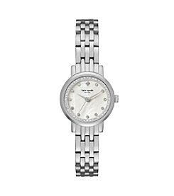 kate spade new york® Stainless Steel Mini Monterey Watch