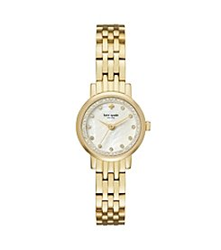 kate spade new york® Goldtone Mini Monterey Watch