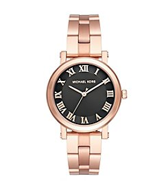 Michael Kors® Norie Rose Goldtone Three Hand Watch
