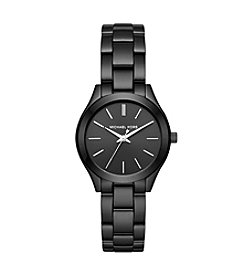 Michael Kors® Mini Slim Runway IP Three Hand Watch