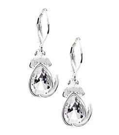 Pet Friends™ Crystal Dog Drop Earrings