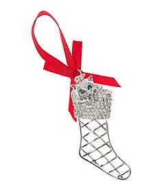 Pet Friends™ Cat Stocking Ornament