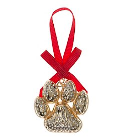Pet Friends™ Goldtone Paw Ornament