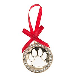 Pet Friends™ Open Work Paw Ornament