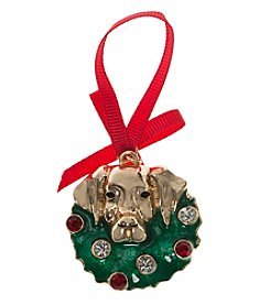 Pet Friends™ Dog Wreath Ornament