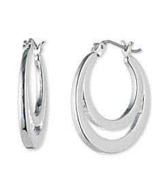 Nine West® Double Hoop Earrings