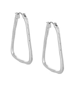 The Sak® Trapezoid Hoop Earring