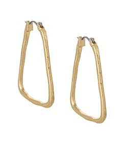 The Sak® Trapezoid Hoop Earrings