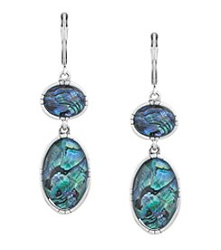The Sak® Double Stone Drop Earrings