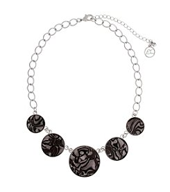 Erica Lyons® Short Frontal Necklace