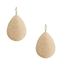 Erica Lyons® Teardrop Earrings
