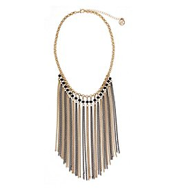Erica Lyons® Fringe Front Necklace