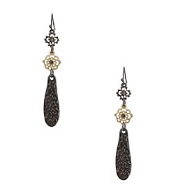 Erica Lyons® Triple Drop Earrings