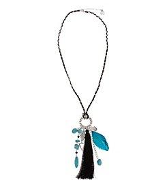 Erica Lyons® Tassel Charm Pendant