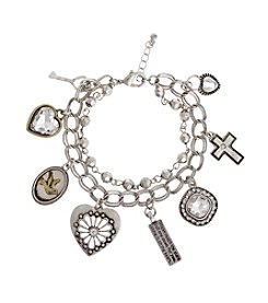TRUE SENTIMENTS Inspirational Charm Gift Bracelet