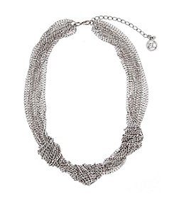 Erica Lyons® Triple Knot Chain Necklace
