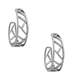 Erica Lyons® Hoop Pierced Earrings